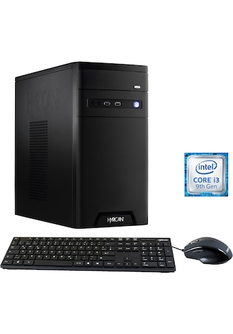 Hyrican »Cyber Gamer black 6527« Gaming - PC (Intel, Core i3, UHD Graphics 630, Luftkühlung) kaufen