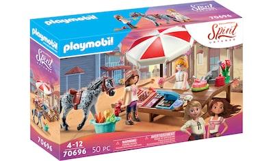 Playmobil® Konstruktions-Spielset »Miradero Süßigkeitenstand (70696), Spirit Untamed«, Made in Germany kaufen