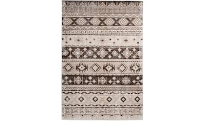 me gusta Teppich »Ariya 325«, rechteckig, 6 mm Höhe, Flachflor, gekettelt, Wohnzimmer kaufen