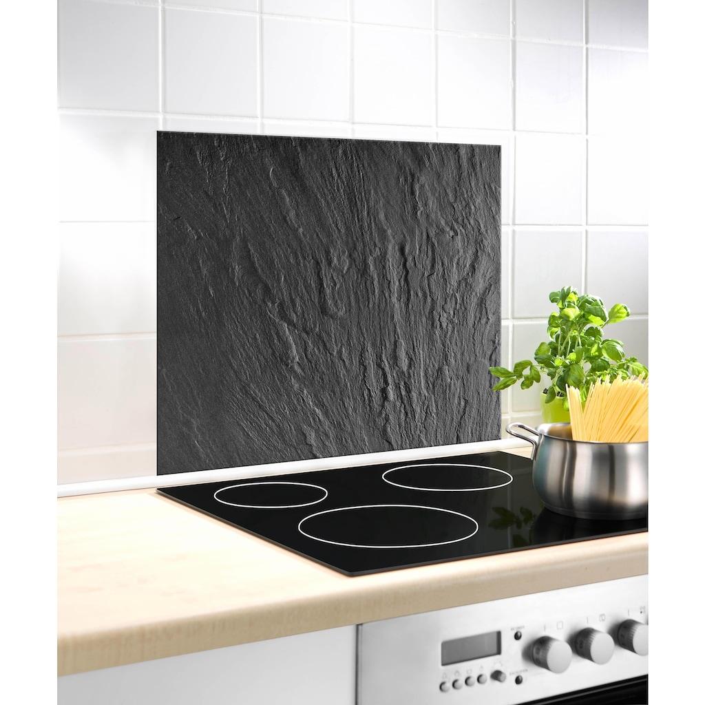 WENKO Küchenrückwand »Schiefer«, praktischer Spritzschutz