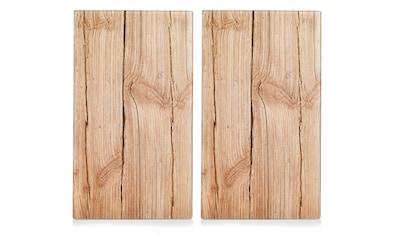 Zeller Present Schneide- und Abdeckplatte »Wood«, Elastikfüßen kaufen