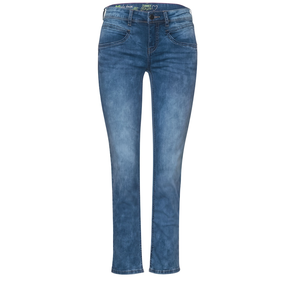 STREET ONE 7/8-Jeans, 4-Pocket Style