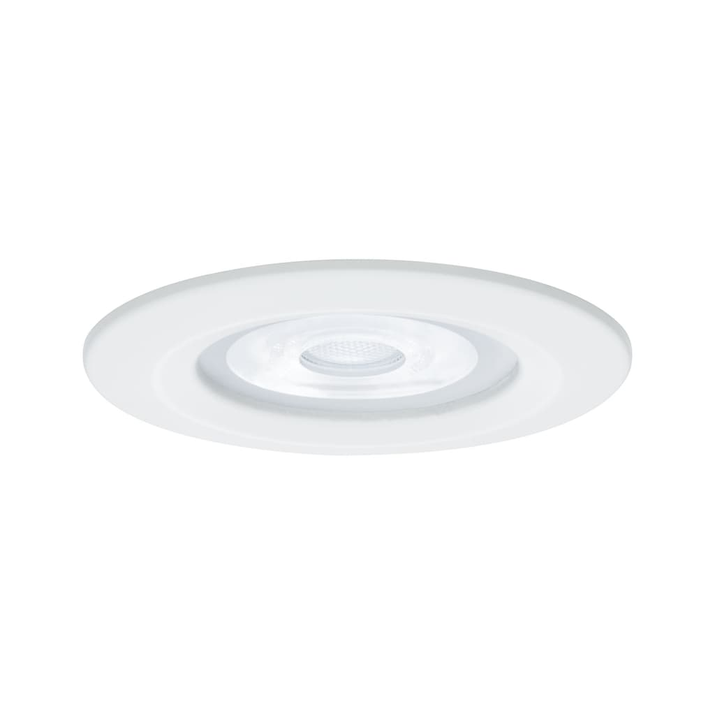 Paulmann LED Einbaustrahler »Nova rund 3x6,5W GU10 Weiß matt 4000K starr«, GU10