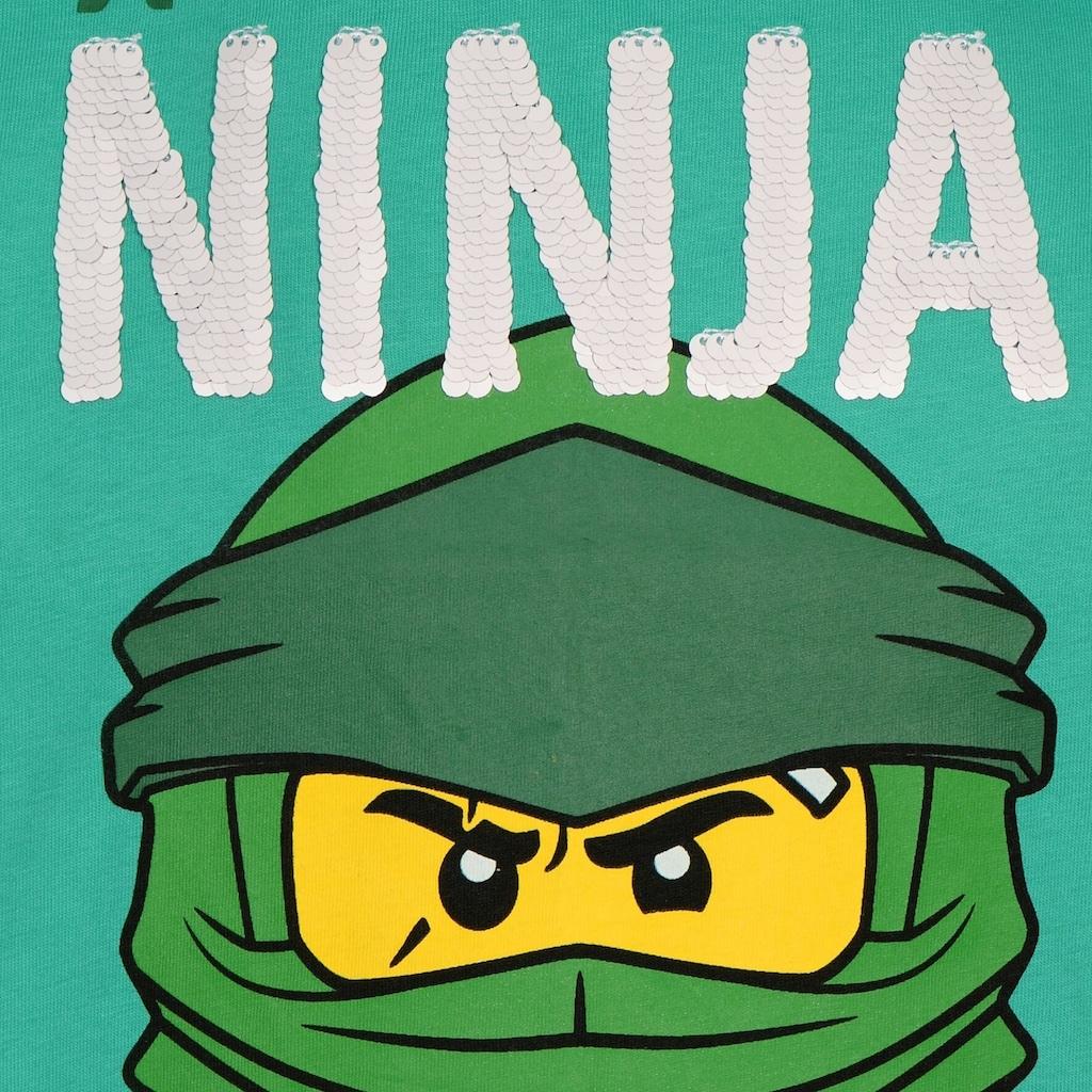 "LEGO® Wear Kurzarmshirt »CM-51317«, ""mit dem grünen Ninja LLoyd"""