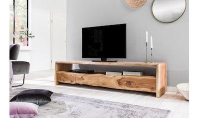 SIT Lowboard »Albero«, massive Akazie mit Baumkante, Breite 190 cm kaufen