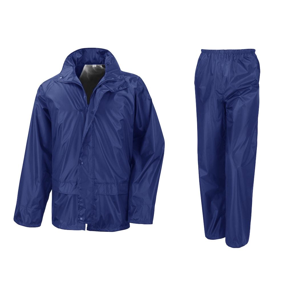 Result Regenjacke »Core Herren Regenset, Hose und Jacke«