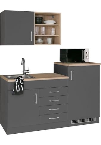 HELD MÖBEL Küchenzeile »Mali«, mit E - Geräten, Breite 160 cm kaufen