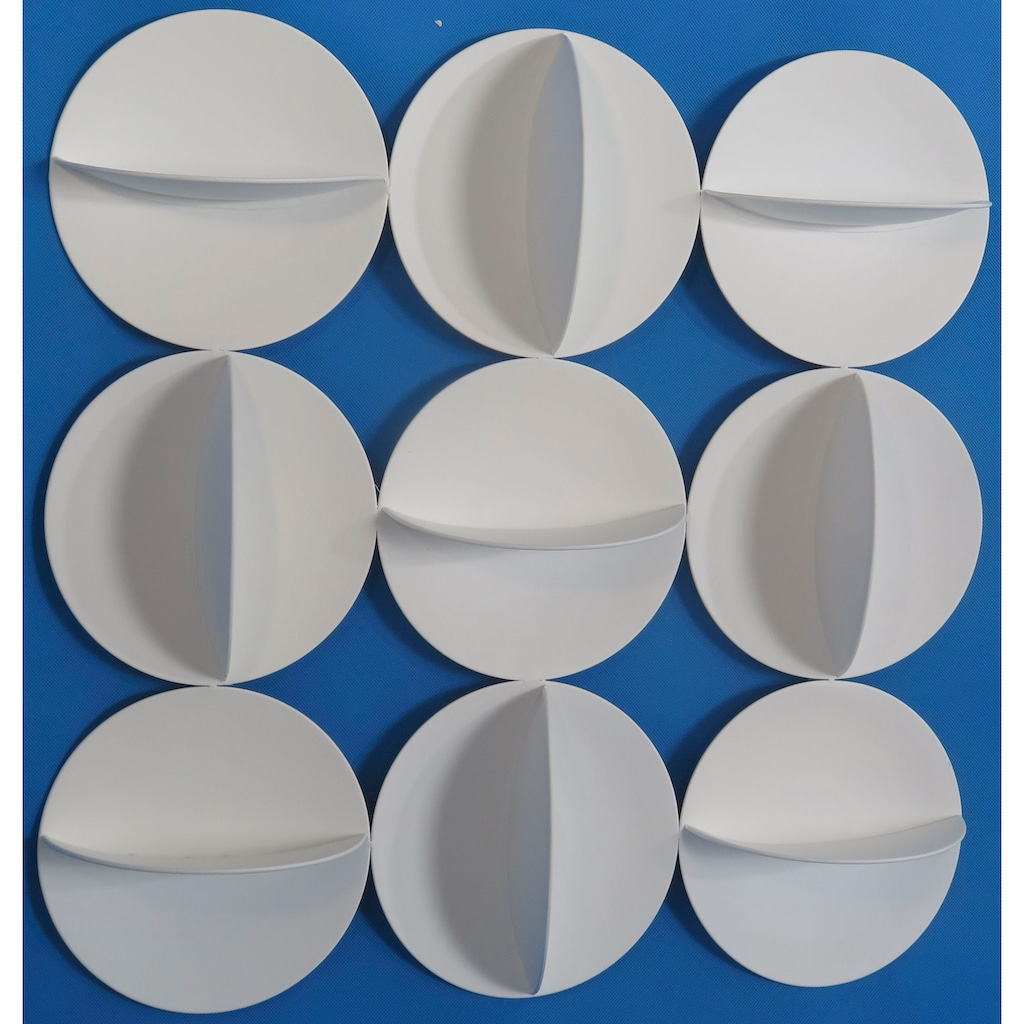 LeGer Home by Lena Gercke Wanddekoobjekt »Kreise«, Wanddeko, aus Metall, bestehend aus 9 Elementen