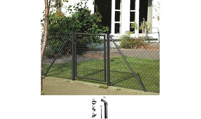 GAH Alberts Eckpfosten, für Maschendrahthöhe 75 cm, mit Bodenhülse kaufen