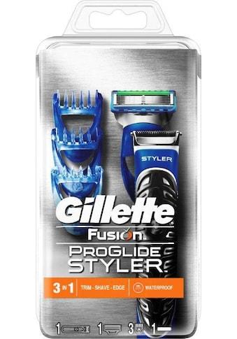 Gillette Nassrasierer »Fusion ProGlide Styler«, 3-in-1 kaufen