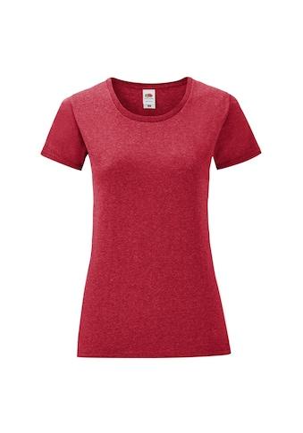 Fruit of the Loom T-Shirt »Damen Iconic, kurzärmlig« kaufen