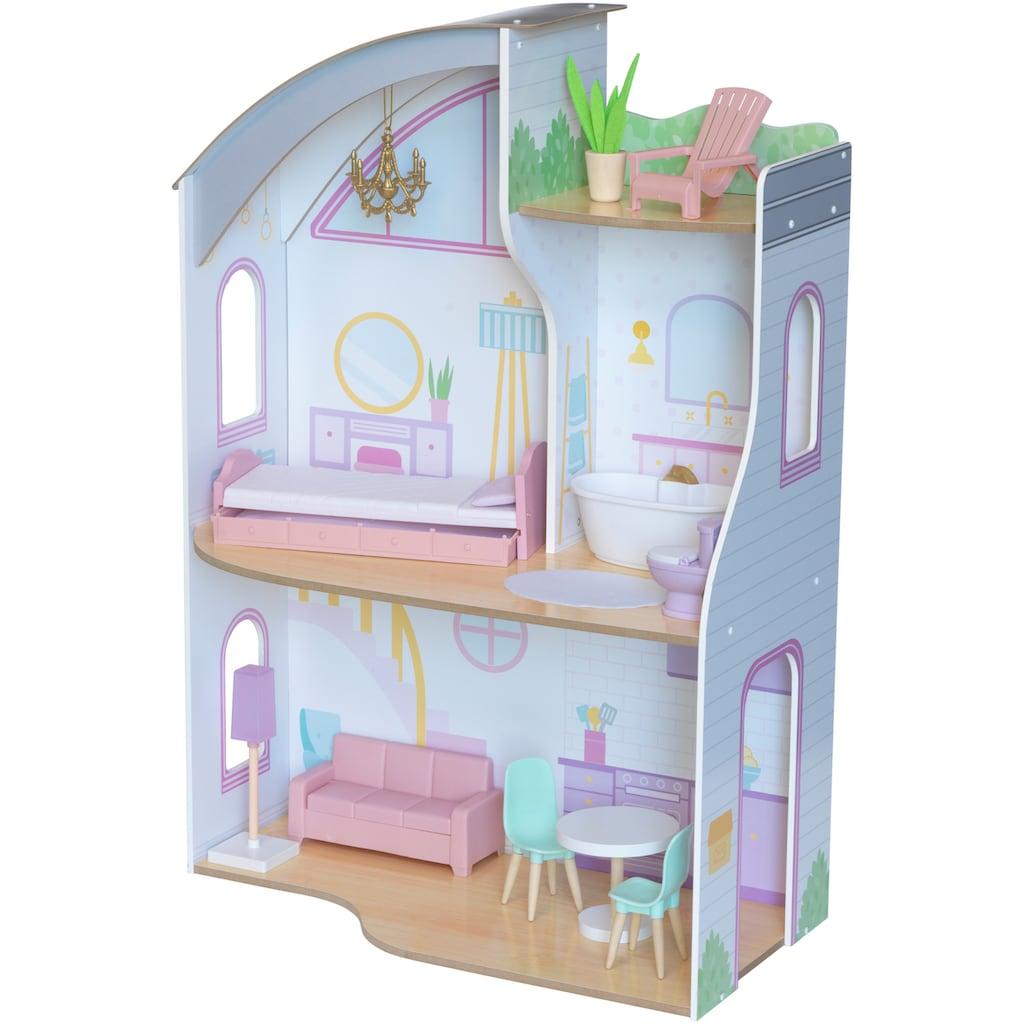 KidKraft® Puppenhaus »Elise«, mit goldenem Kronleuchter