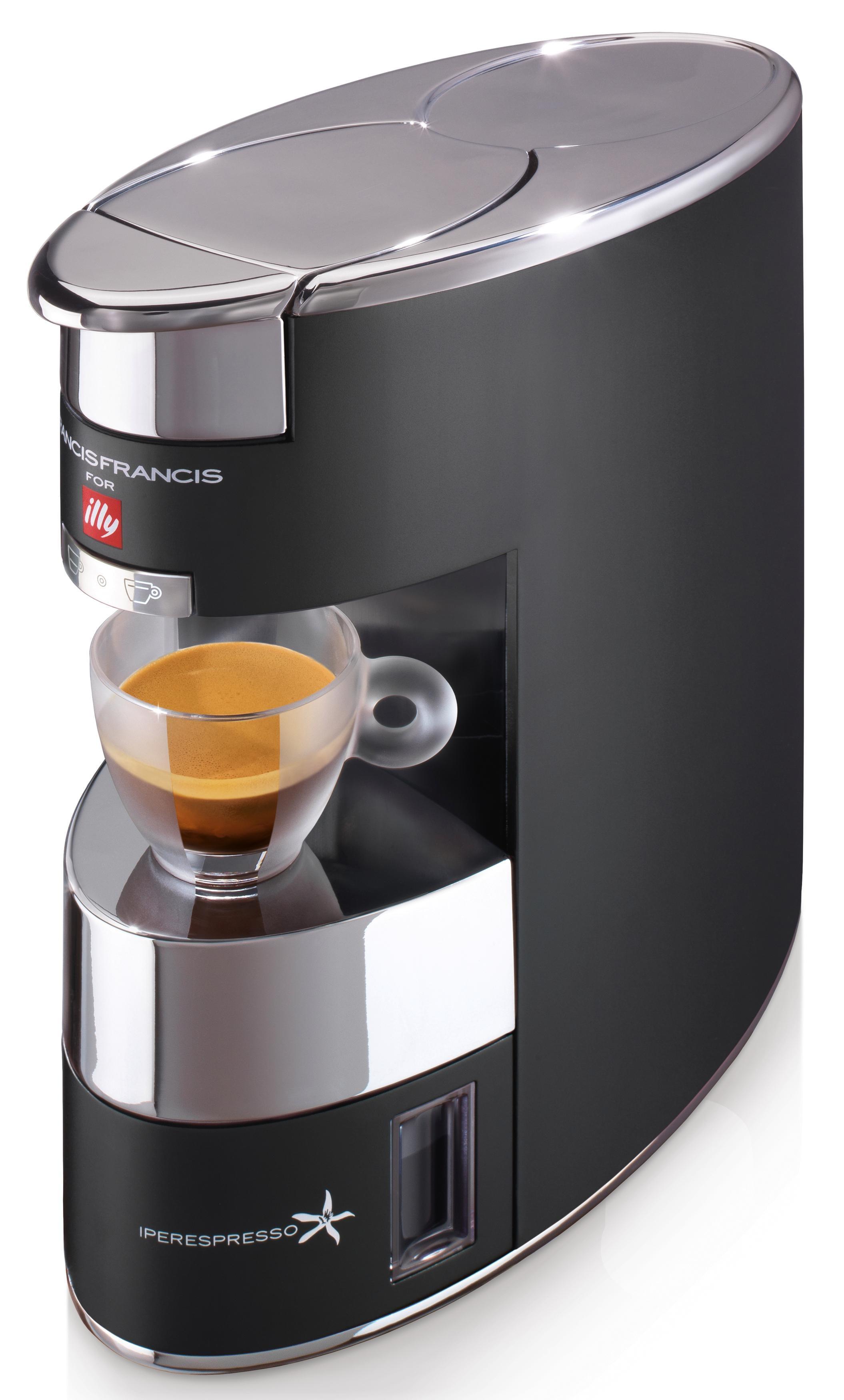 Illy Kapselmaschine FrancisFrancis X9 Iperespresso, schwarz Kaffee Espresso SOFORT LIEFERBARE Haushaltsgeräte