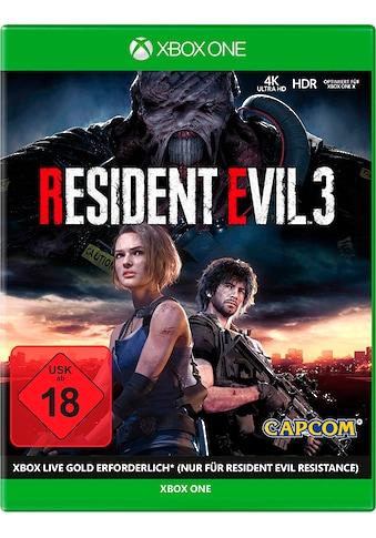 Capcom Spiel »Xbox One Resident Evil 3«, Xbox One kaufen