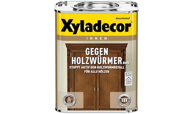 Xyladecor Holzschutzlasur »Gegen Holzwürmer«, 0,13 Liter, transparent kaufen