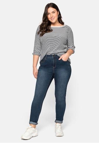 Sheego Stretch-Jeans, extralang - speziell für große Frauen kaufen