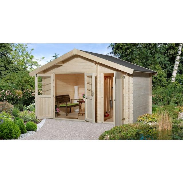 WEKA Gartenhaus »Gr.1«, BxT: 420x260 cm, inkl. Fußboden