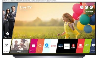 "LG OLED-Fernseher »OLED48C17LB«, 121 cm/48 "", 4K Ultra HD, Smart-TV kaufen"