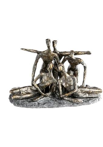 Casablanca by Gilde Dekofigur »Skulptur Gruppenfoto, bronzefarben/grau«, Dekoobjekt,... kaufen