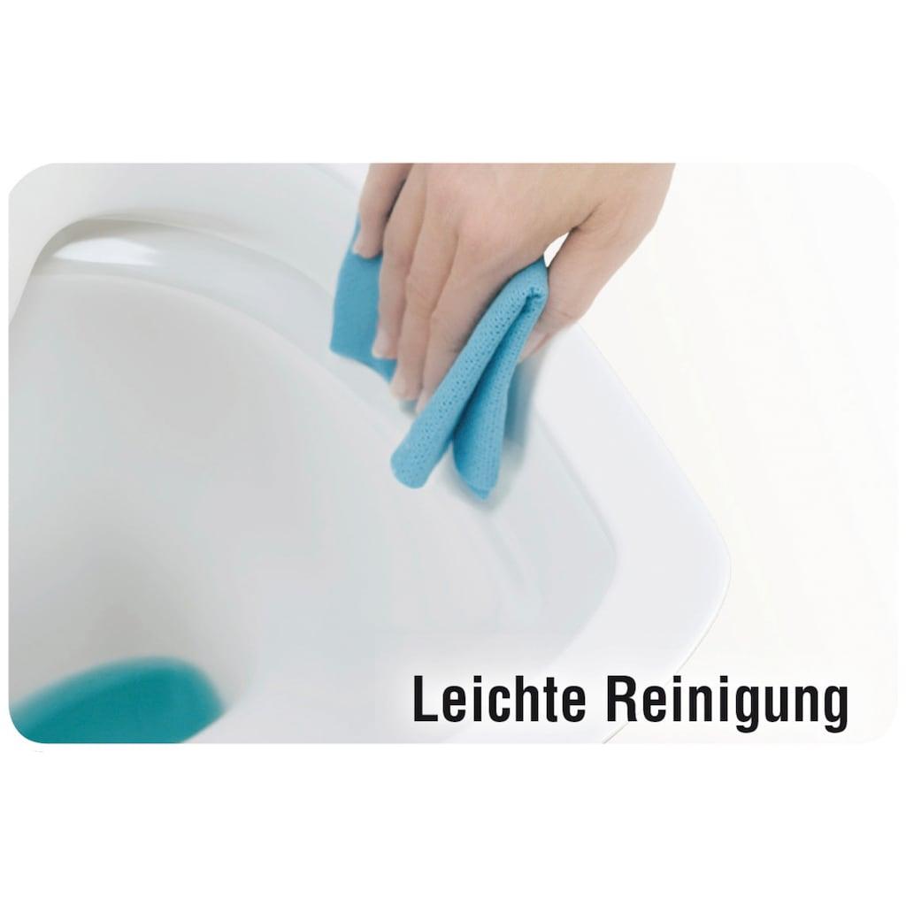 CORNAT Tiefspül-WC, spülrandlos