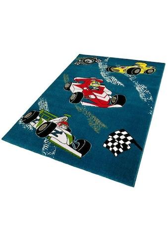 Kinderteppich, »Momo Rennen«, Festival, rechteckig, Höhe 13 mm, maschinell gewebt kaufen