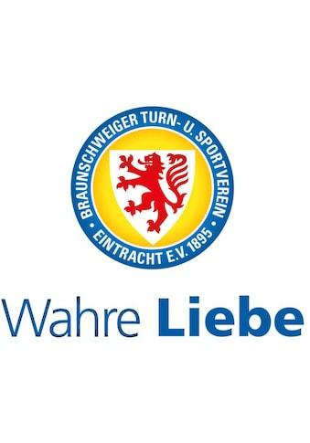 Wall - Art Wandtattoo »Eintracht Braunschweig Wahre Liebe« (1 Stück) kaufen