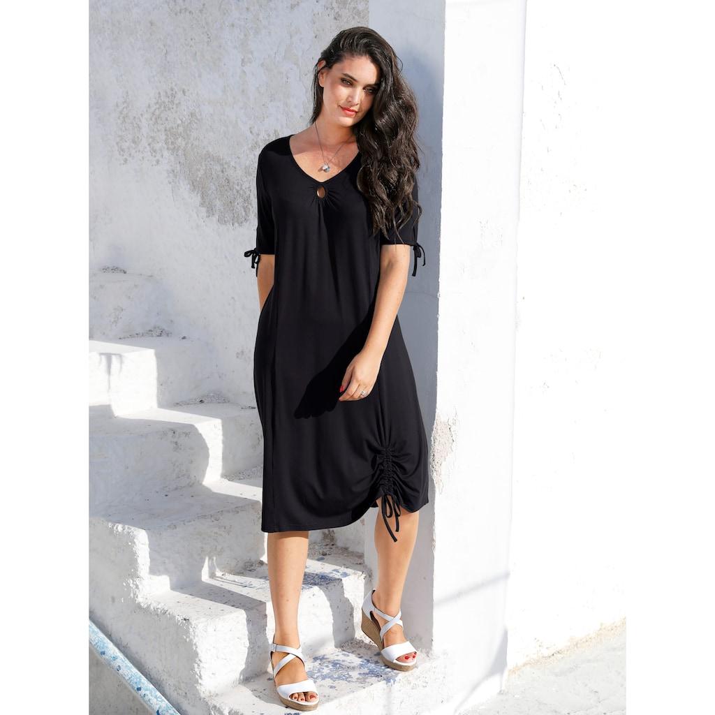 MIAMODA Sommerkleid, mit tollem Ausschnitt