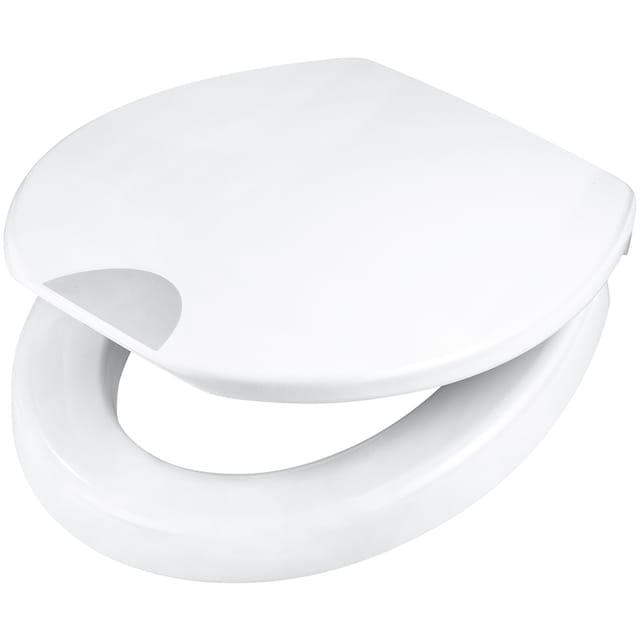 WC-Sitz »Safeline - 5 cm Sitzerhöhung «, Mit Absenkautomatik
