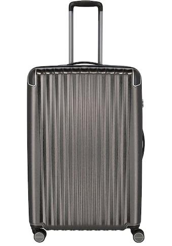 TITAN® Hartschalen-Trolley »BARBARA & TITAN®, Barbara Glint 77 cm, Anthrazit Metallic«, 4 Rollen kaufen