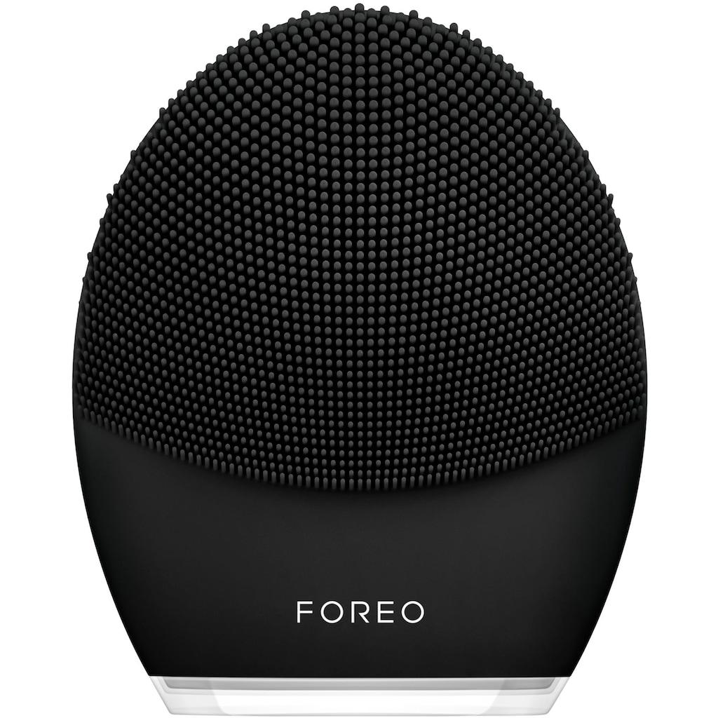 FOREO Elektrische Gesichtsreinigungsbürste »LUNA™ 3 MEN Smarte Gesichtsreinigungs- & Massagebürste«