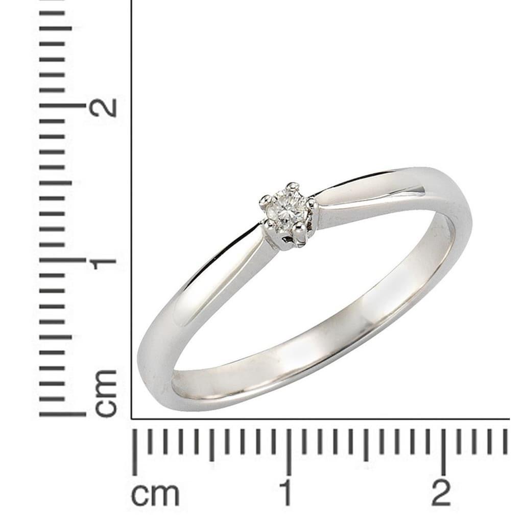 Firetti Silberring »Verlobungsring/Vorsteckring«