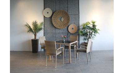 Ploß Gartenstuhl »WINDSOR«, 4er Set, Stahl, stapelbar kaufen