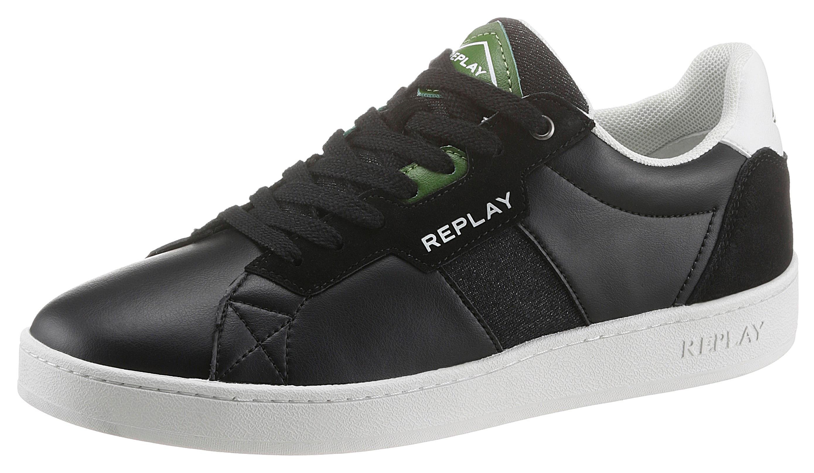 replay -  Sneaker, mit weichem Schaftrand