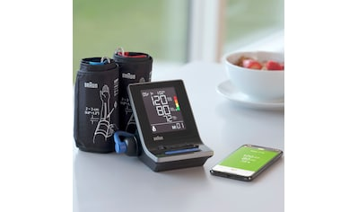 Braun Oberarm-Blutdruckmessgerät »ExactFit™ 5 Connect BUA6350«, mit 2... kaufen