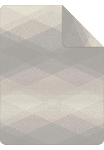 IBENA Wohndecke »Jacquard Decke Seattle«, mit Rautenmuster kaufen