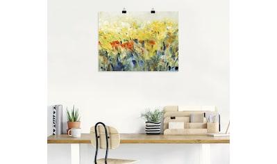 Artland Wandbild »Schwingende Blumen II« kaufen