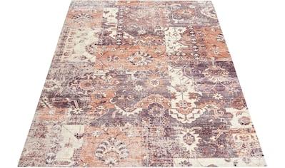 Leonique Teppich »Arnau«, rechteckig, 10 mm Höhe, Vintage Design, Wohnzimmer kaufen