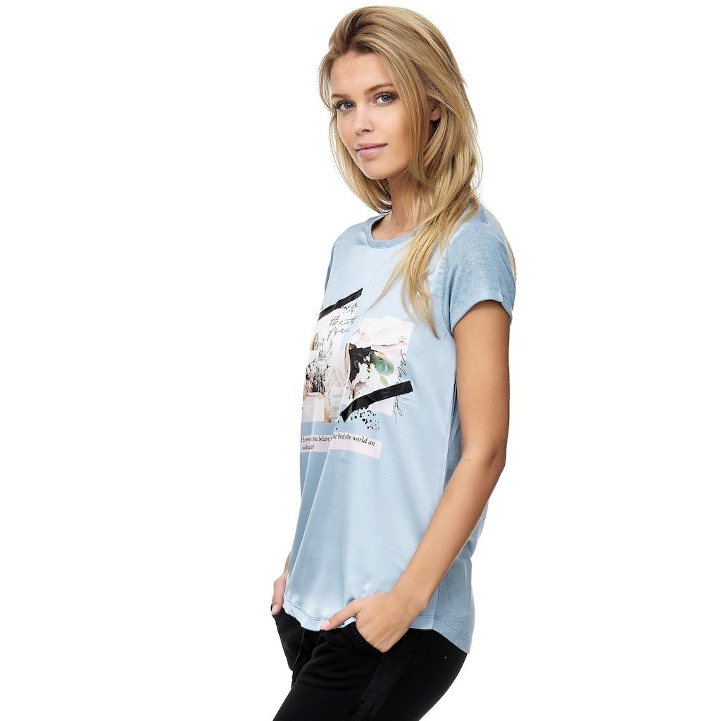 Decay T-Shirt, mit Aufdruck 3761411