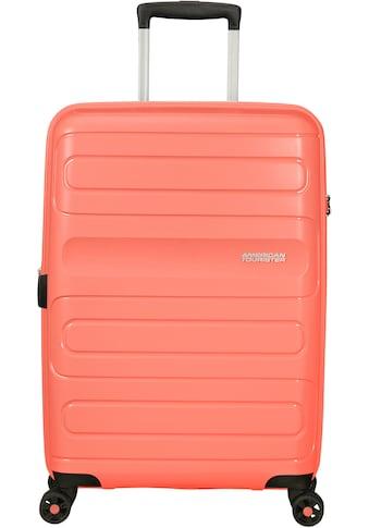 American Tourister® Hartschalen-Trolley »Sunside, 68 cm«, 4 Rollen, mit Volumenerweiterung kaufen