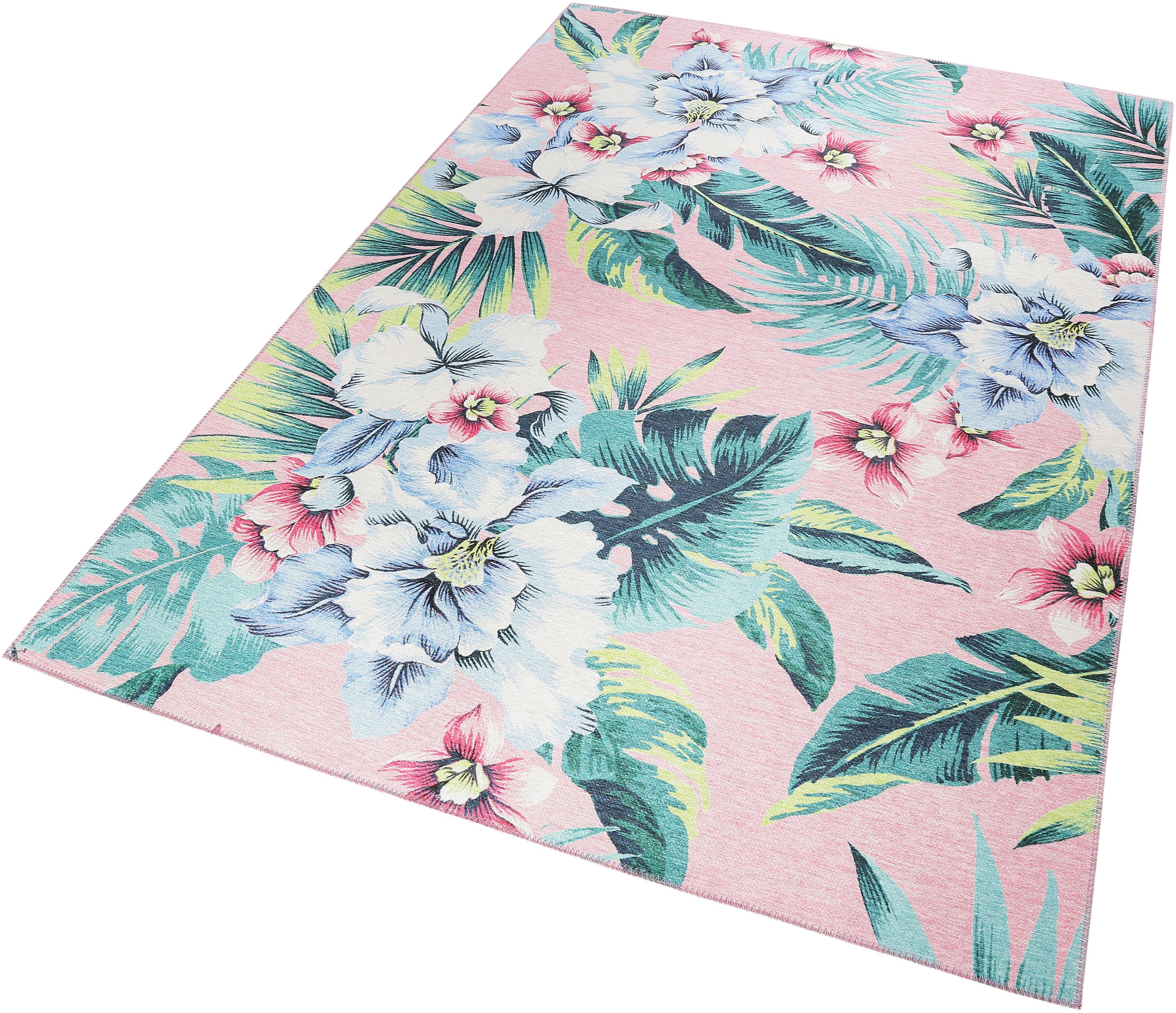 Teppich Tropical Orchid Accessorize Home rechteckig Höhe 6 mm maschinell gewebt