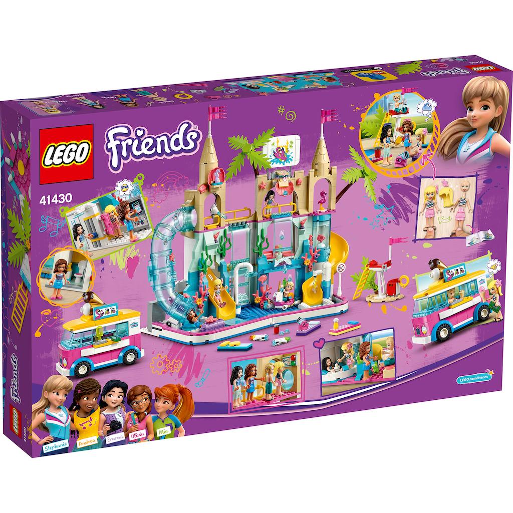 LEGO® Konstruktionsspielsteine »Wasserpark von Heartlake City (41430), LEGO® Friends«, (1001 St.), Made in Europe