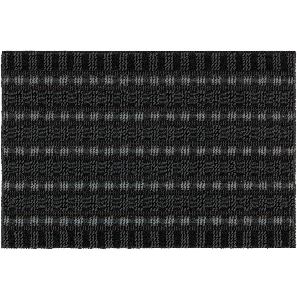 ASTRA Fußmatte »Poly Brush 250«, rechteckig, 14 mm Höhe, Fussabstreifer, Fussabtreter, Schmutzfangläufer, Schmutzfangmatte, Schmutzfangteppich, Schmutzmatte, Türmatte, Türvorleger, In -und Outdoor geeignet
