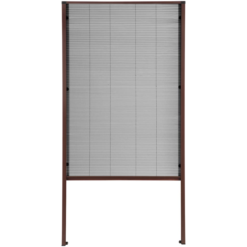 hecht international Insektenschutz-Dachfenster-Rollo, braun/anthrazit, BxH: 80x160 cm