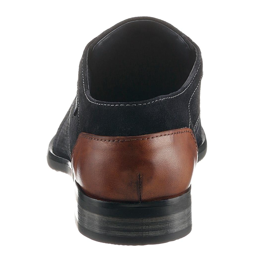 bugatti Schnürschuh »Levio«, mit allover Strukturierung