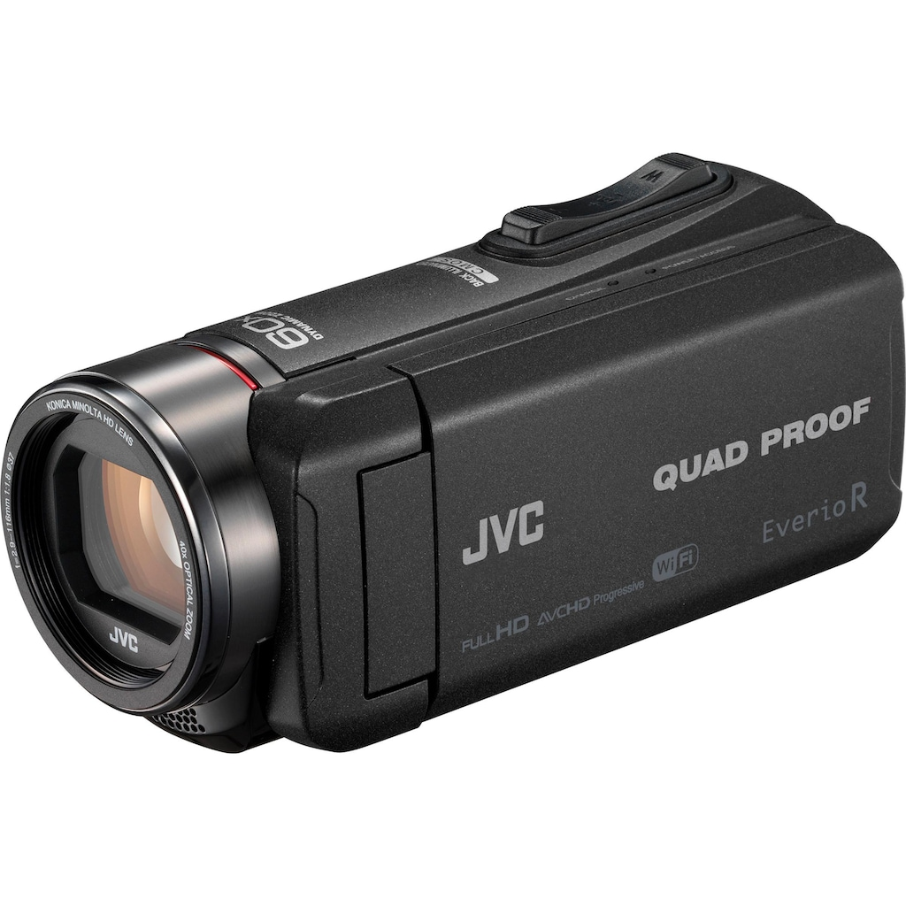JVC Camcorder »GZ-RX625BEU«, Full HD, WLAN (Wi-Fi), 40x opt. Zoom