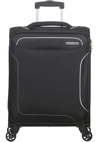 American Tourister® Weichgepäck-Trolley »Holiday Heat, 55 cm, black«, 4 Rollen kaufen
