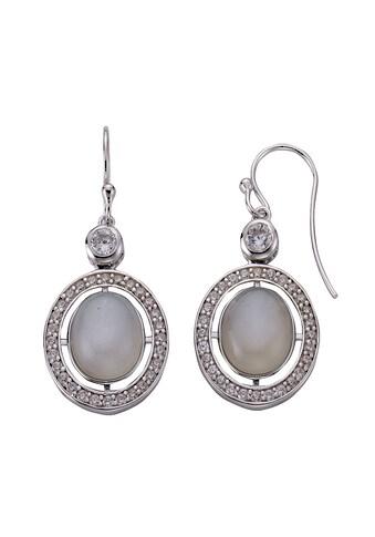 Zeeme Ohrhänger »925/ -  Sterling Silber Mondstein« kaufen