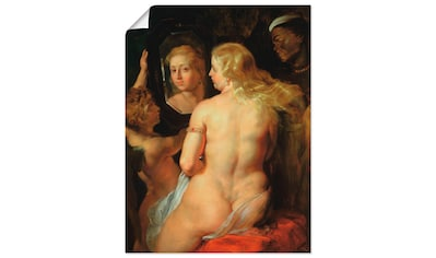 Artland Wandbild »Toilette der Venus«, Frau, (1 St.), in vielen Größen & Produktarten... kaufen