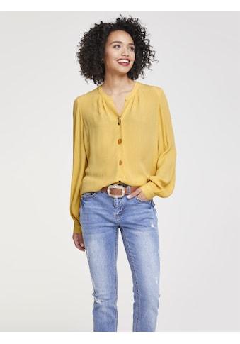 Bluse mit interessanten Knöpfen kaufen
