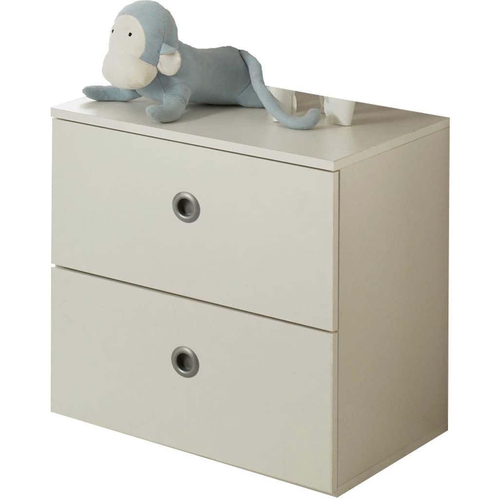 arthur berndt Babybett »Elly«, mit Wickelstation; Umbaubar zum Juniorbett, Spieltisch und Konsole; Made in Germany